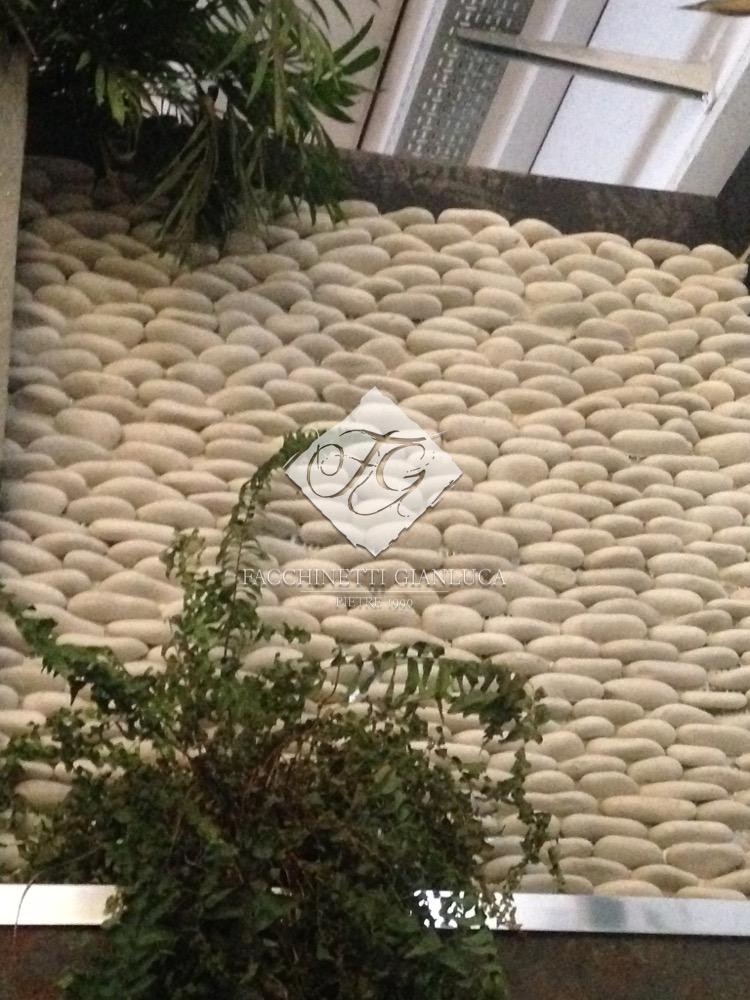 pannello in pietra ciottoli mosaico bianco (2)