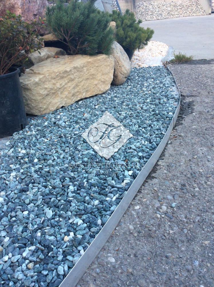 bordi giardino aiuole in alluminio separatore per ghiaia