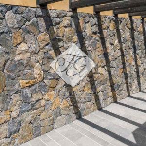 Rivestimento In Pietra Quarzite Gialla Mix Fg Stone Design